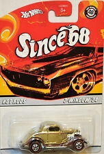 Hot Wheels Since 68 Hot Rods 3-Window '34 #2 Of 10 Gold
