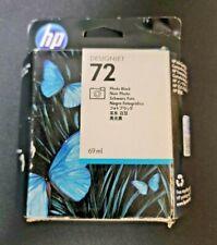 HP DesignJet 72 HP Ink Cartridge,  C9397A, Photo Black, 69ml T-1100 EXP FEB 2018
