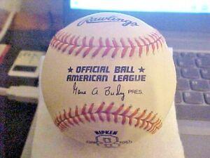 Cal Ripken Jr Commemorative Baseball Official American League Ball