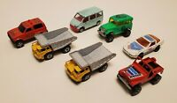 Vintage Diecast Majorette Lot Cars Trucks, Jeeps