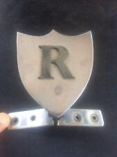 More details for rare vintage r shield royale caravans caravan badge coachbuilt gloucester 1968