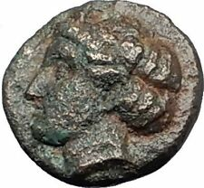 EPHESOS in IONIA Genuine 387BC Bee Female Authentic Ancient Greek Coin i59663