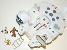 2011 Hasbro Galactic Heroes Millennium Falcon with 3 Figures