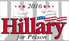 New listing Hillary for Prison 3X5 Polyester Flag