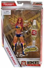 WWE Elite Collection Sasha Banks Action Figure w/ Raw Women's Championship Belt