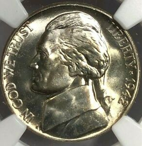 1942-S NGC MS67 SILVER Jefferson WWII Nickel 5c ~ Brilliant Uncirculated ~ WOW!