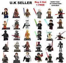 Star Wars Minifigure Force Awakens Rogure One Yoda Han Solo Leia Mini Figure