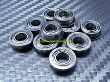 [20 Pcs] MF84zz (4x8x3mm) Flange Metal Shielded Ball Bearing MF84z 4*8*3