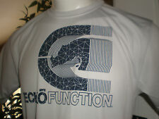 NWT ECKO FUNCTION PERFORMANCE LIGHT GREY S/S T-SHIRT SZ:S