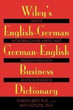 Wileys English-German, German-English Business Di