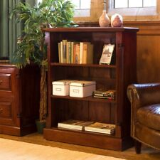 La Roque Mahogany Low Open Bookcase Baumhaus