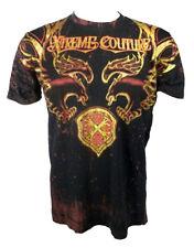 Xtreme Couture Men's 'Dragon Shield' T-Shirt Black (XCTS029)