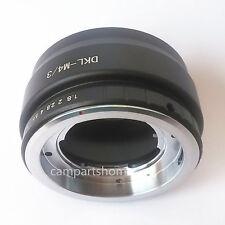 Voigtlander Retina DKL Lens to Micro 4/3 M4/3 GH5 GH2 EP2 G1 EP5 GX7 GF6 Adapter