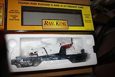 MTH Rail king O Gauge Flat car w/airplane New mint #30-7621MTH Transporation Co.