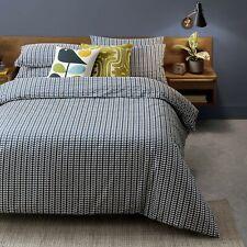 Orla Kiely SUPER KING Duvet Cover & 2 Pillowcases - Tiny Stem Whale Blue - New