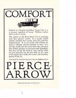 1916 Pierce-Arrow Car Ad - Comfort
