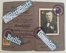 3. Reich Führerschein SS VIP Oberstaffelführer WK II 1935 WW2 Oberschlesien