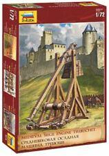 Zvezda 1/72 Trebuchet Motor de asedio medieval # 8516