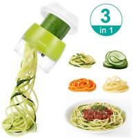 Heavy Duty Handheld Spiralizer Vegetable Slicer Veggie Spiral Slicer for Salad