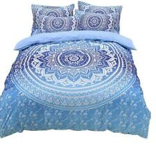 Queen King size Bohemia Floral Quilt Cover Set Bedding Duvet Cover Pillowcases