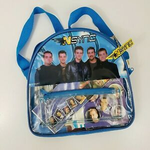 Vintage Nsync Merchandise Backstage Passes Buttons Stickers Photographs Backpack