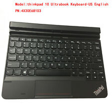 New Lenovo ThinkPad 10 1st 1 Gen Ultrabook Keyboard Dock US English 4X30E68103