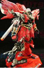 Conversion Parts Metal Detail Up - Armor Leg Backpack For 1/100 MSN-06S Sinanju