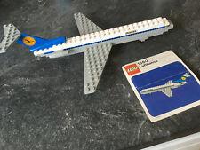 LEGO Flugzeug 1560 mit Anleitung - Sticker sind nicht ganz vollständig, siehe Fo