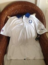 INDIANAPOLIS COLTS FOOTBALL NIKE  POLO SHIRT NFL New With Tags Size L Men's