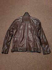 Superdry men's Ryan leather jacket ( RRP £ 225 )