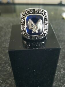 United States Air Force Ring, USMC and Army, Navy, National Guard Rings