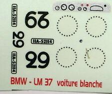 decals 1/43: BMW Le Mans 1937 N°29