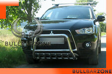 MITSUBISHI OUTLANDER 09-12 TUBO PROTEZIONE MEDIUM BULL BAR INOX STAINLESS STEEL