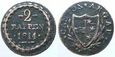 Schweiz 2 Rappen Aargau 1814 (1)