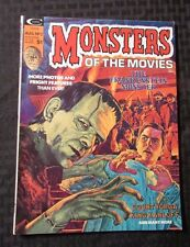 1974 MONSTERS OF THE MOVIES Curtis Magazine #2 VF+ Frankenstein