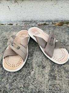Gstar Raw Mens Grey Slip On Sandals Size 7