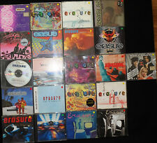 20 x ERASURE CD Singles incl Imports/Limited Editions (Varying Conditions)
