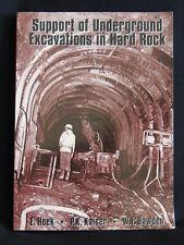 SUPPORT OF UNDERGROUND EXCAVATIONS IN HARD ROCK-HOEK, KAISER & BAWDEN-SC/VGC/98