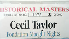 Cecil Taylor - Fondation Maeght Nights - Limited Edition