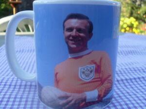 Jimmy Armfield Blackpool & England Tribute Mug Cup 11oz Birthday Christmas Gift