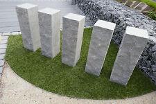 Gartenmauer Granitmauer Steinmauer 16 Stück Palisade Mauer Naturstein Granit