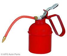 Metal Lata De Aceite 500cc bomba de lubricación de líquidos Pico Flexible acción Squirt Boquilla