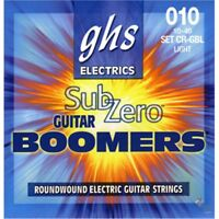 GHS CR-GBL Sub Zero Boomers Coated Electric Guitar Strings Light 10-46
