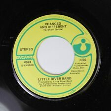 Rock 45 Little River Band - Changed And Different / Happy Anniversary On Harvest