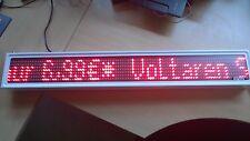 Daylite LED Laufschrift Laufzeile Restposten Display Lauftext DLX 907 RW PC