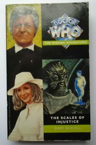 Doctor Who - The Scales of Injustice - Gary Russell - Third Doctor - PB - 1996