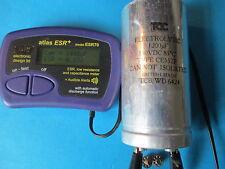VINTAGE TCC 1200uF 150V CAPACITOR. N.O.S. TESTED.