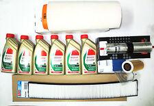 Kit Tagliando Bmw E46 Diesel 110 kw 150 cv fino al 2001+ 6 Lt. olio Castrol 5W30