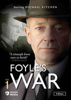 Foyle's War 4 Disc DVD Set 1 Mysteries - New - Sealed.