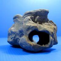 Cichlid Rock Cave Aquarium Decorations -Small Moss Stone Fish Tank Ceramic Decor